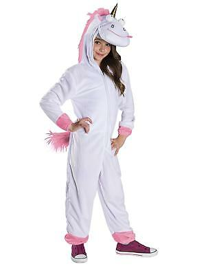 Fluffy Despicable Me 3 Movie Unicorn Fancy Dress Up Halloween Child Costume - Despicable Me Unicorn Halloween Costume