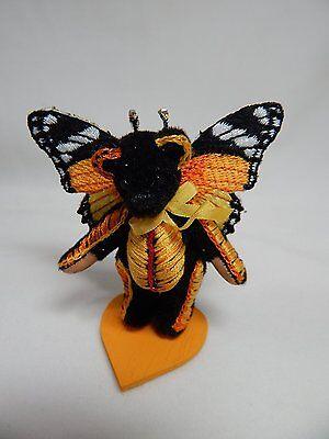 "World of Miniature Bears 2.75"" Plush Butterfly Bear Flutterflash #1031P"