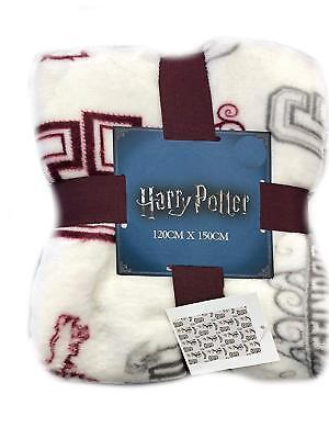 Harry Potter Gryffindor Throw Blanket Super Soft Fleece Christmas Gift