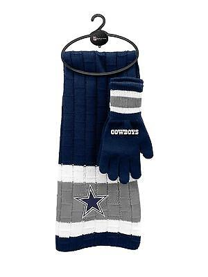 Dallas Cowboys Gifts (DALLAS COWBOYS NFL SCARF AND GLOVES GIFT)