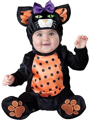 Incharacter Mini Meow Haustier Kätzchen Tier Kleinkinder Baby Halloween Kostüm