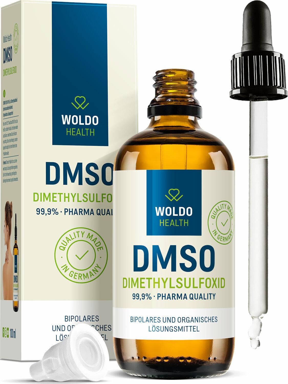 DMSO Dimethylsulfoxid 99,9% Reinheit ph. Eur. pharmazeutische Qualität 100ml