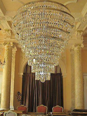 alter Kronleuchter in Top Design, gold, mit LEds,  old chandelier, top design