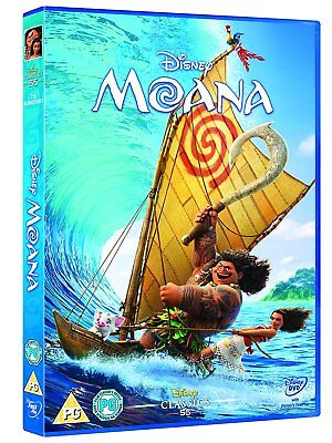 MOANA DVD. New and Sealed. Free shipping