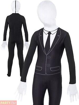 Boys ALien Agent Costume Childs Tuxedo Skin Suit - Alien Agent Kostüme