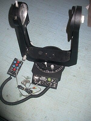 Meade Lx5 8 inch Schmidt telescope fork mount for parts or repair