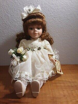 Vintage Musical Movement Porcelain Doll