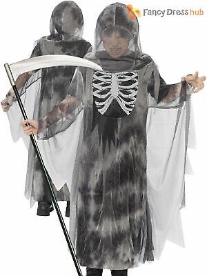 Boys Glow In The Dark Skeleton Grim Reaper - Halloween Kostüme Teen Boys