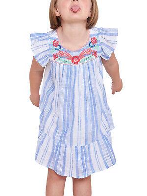 ROBERTA ROLLER RABBIT Girls Blue Montauk Aimee Dress 12 Years $78 NEW Montauk Blue Apparel