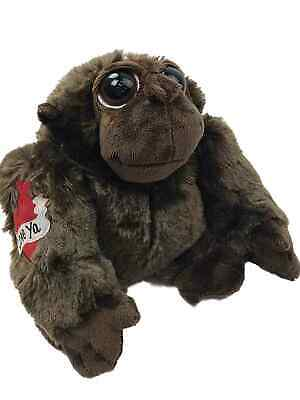 Animals With Tattoos (Valentines Day Macho Love Monkey Stuffed Animal With Heart Tattoo, 8