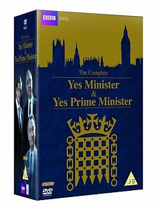 YES MINISTER AND YES PRIME MINISTER COMPLETE SERIES DVD BOX SET 7 DISC R4