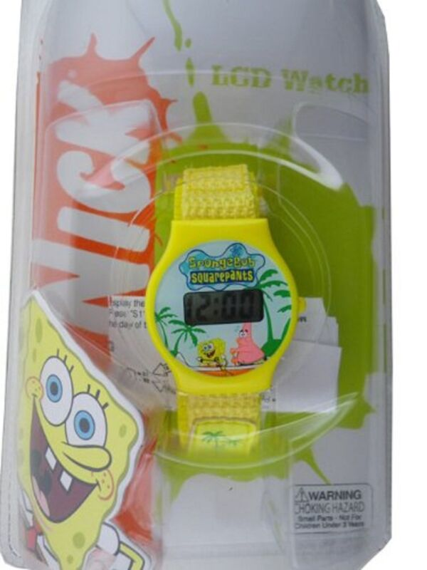 """Spongebob Squartpants Character Digital Watch"" (STYLES MAY VARY)-Brand new!"