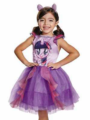 Toddler Girls Twilight Sparkle Costume My Little Pony Movie Ruffle Tutu Dress 2T