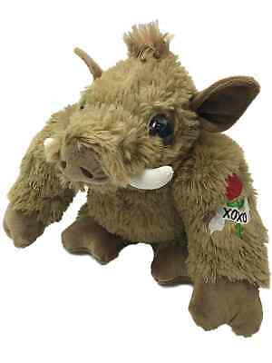 Animals With Tattoos (Valentines Day Macho Wart Hog Stuffed Animal With Love & Kisses Tattoo, 8