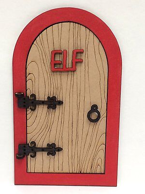 Large 3D Opening Elf Door for wall mounting above skirting board or on the shelf](Skirt For Elf On The Shelf)