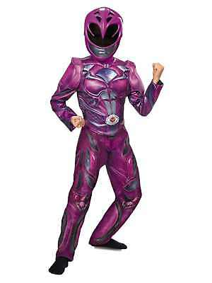 Power Rangers Girls Pink Ranger Costume & Mask Halloween Outfit - Power Girl Halloween Costume