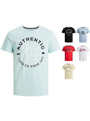 Jack & Jones Herren T-Shirt JjMoon Regular Basic mit Logo-Print S M L XL XXL Neu online kaufen
