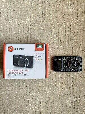 MOTOROLA Full HD 1080P Dash Cam MDC400 4 Inch LCD Display Wide View Angle Camera