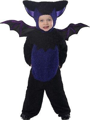 Jungen Mädchen Kleinkind Süß Fledermaus Alles in Eins Halloween Kostüm 1-4 Jahre (Alle Jungen Halloween Kostüme)