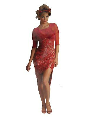 Women Halloween Costumes Devil (Womens Fiery Devil Halloween Costume Dress &)