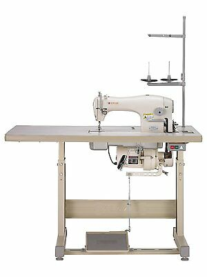 Singer 191d-30 Straight Lock Stitch Reverse Heavy Duty Industrial Sewing Machine