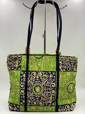 VERSACE Medusa Print Tote Bag - MADE IN ITALY