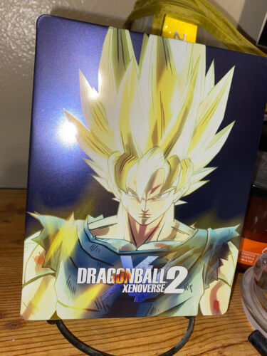 Dragon Ball Xenoverse 2 Xbox One Collectors Edition Soundtrack STEELBOOK ONLY