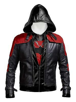 New Batman Arkham Knight Game Red Hood Leather Jacket & Vest - Arkham Knight Costume