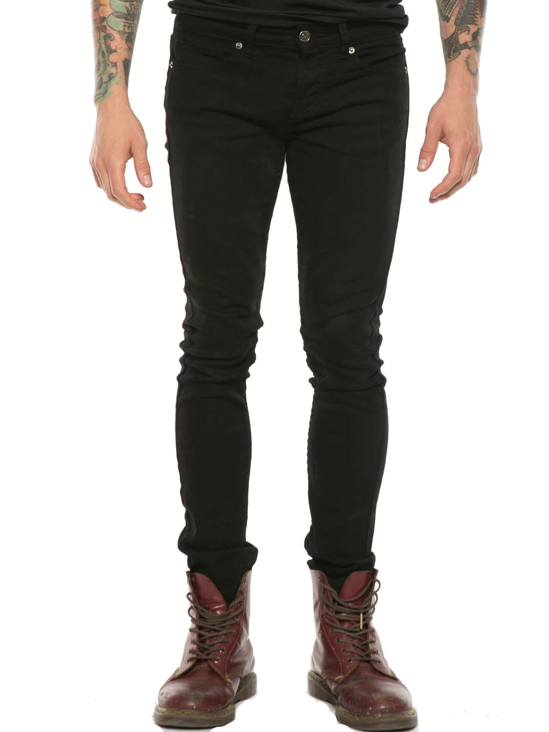 KILL CITY ROCKER FIT PEGGED SKINNY STRETCH GOTHIC PUNK STAGE JEANS PANTS BIKER Clothing, Shoes & Accessories