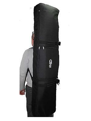 13cf2e83f3c3e Snowboard bag Wheelie padded Deluxe travel bag NEW WHEELIE store wear