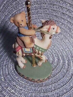 Vintage Cherished Teddys Jerrod Figurine