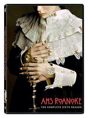 American Horror Story Roanoke Season 6 (3-Disc Set) AHS - NEW - New Halloween Movie 3