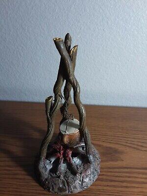 Vintage Clay Figurine