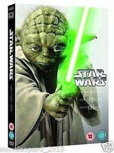 Star Wars: The Prequel Trilogy - Episodes 1 2 3 Box Set | New | Sealed | DVD