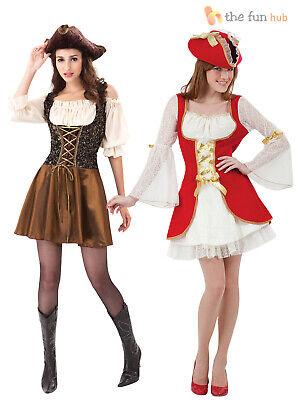 Piratenkostüm für Damen Karibik Fasching Karneval Kostüm Pirat Piratin Gr. - Karibik Kostüm Für Damen