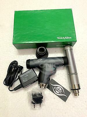 Welch Allyn Panoptic Ophthalmoscope 11820-l With Cobalt Blue Filter Corneal Vie