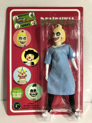 """Mad Clowns Dementia 8"""" Classic TV Toys Action Figure - NRFB"""