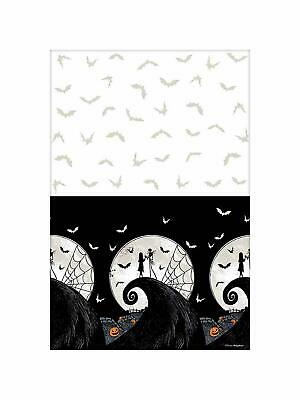 Nightmare Before Christmas Jack Halloween Party Decoration Plastic Tablecover](Before Halloween Party)
