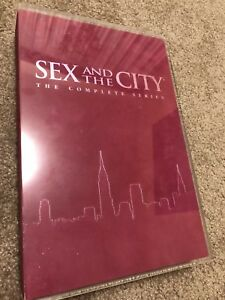 Collectors case Sex and the city 6 seasons in one