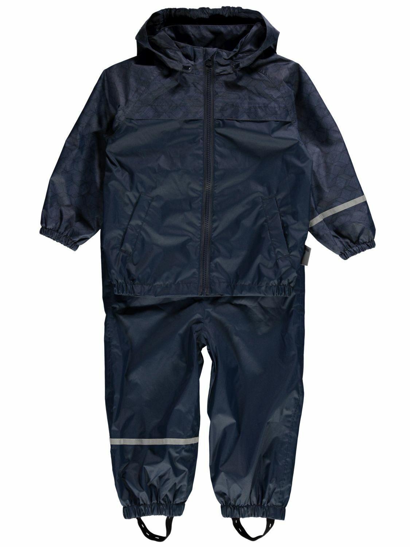 name it mini Playtech Jungen Regen Anzug 2 teilig Hose Jacke Wassersäule 5000
