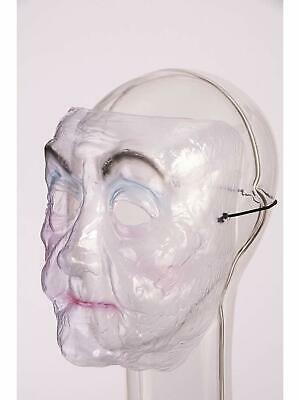 Old Lady Transparent Plastic Mask Fancy Dress Halloween Adult Costume Accessory](Old Lady Halloween)