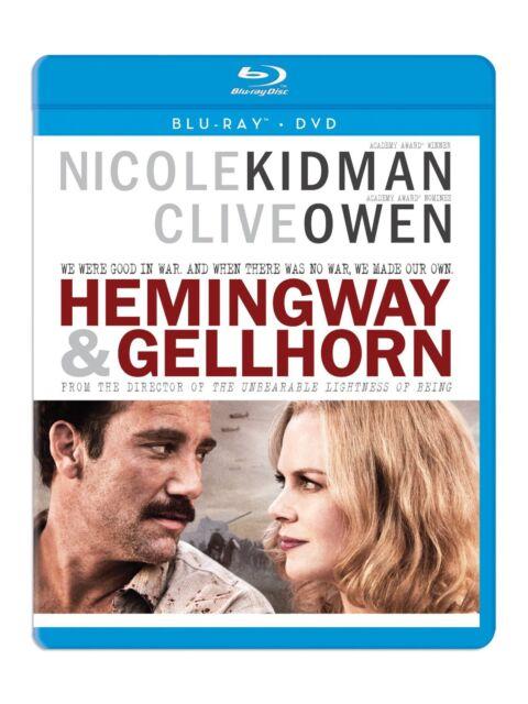HEMINGWAY & GELLHORN (Clive Owen)  -  Blu Ray - Sealed Region free