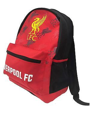 Liverpool FC  backpack school mochila bookbag cinch Bag official STYLE (Liverpool Backpack)