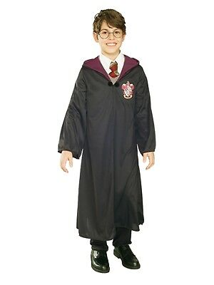 Harry Potter Boys Wizard Hooded Robe Halloween - Boys Wizard Costume