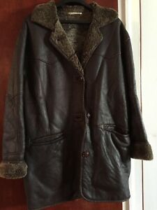 REDUIT! MANTEAU DE CUIR  / WOMEN'S LEATHER COAT