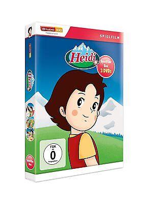 HEIDI Juego de Cine Colección en el Bergen GEHT NACH FRANKFURT Clásicos Caja DVD