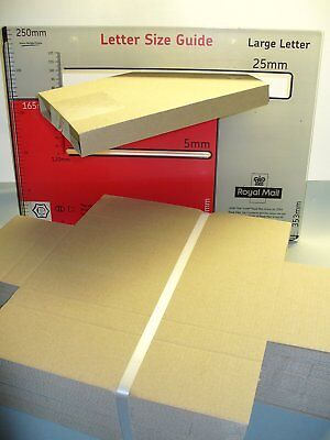 50 Quick Pack DL Sized PiP Large Letter Mailing Postal Boxes UK SAVE costs post