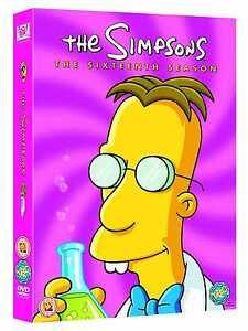 The Simpsons: Complete Season 16 (4 Discs) - DVD