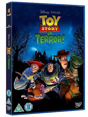 Toy Story Of Terror - Walt Disney - Angus MacLane NEW SEALED UK REGION 2 DVD PAL (Halloween History Uk)