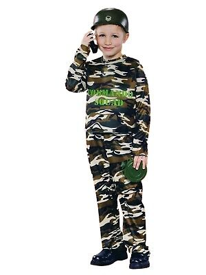 Boys Army Commando Dress Up Soldier Halloween Costume (Army Halloween Costumes For Boys)